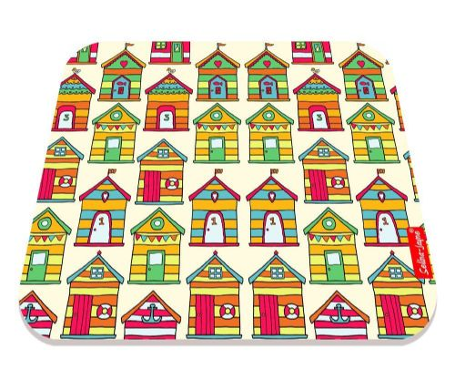 Selina-Jayne Beach Huts Limited Edition Designer Mouse Mat